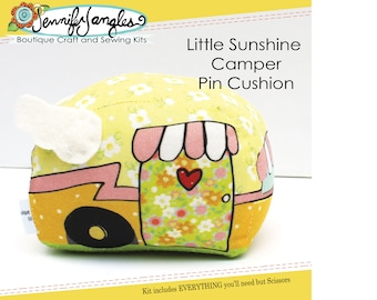 Little Sunshine Camper Pin Cushion Needlecraft Kit