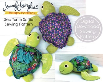 Sea Turtle Softie