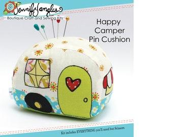 Happy Camper Camper Pin Cushion Needlecraft Kit