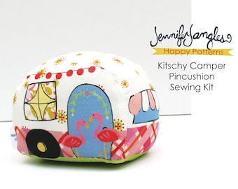 Kitschy Camper Pin Cushion Needlecraft Kit