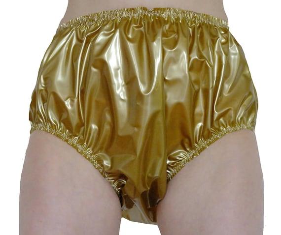 Shiny Gold Panties Pic