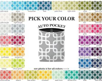 Auto Pocket - Chain Link - PICK YOUR COLOR - Car Accessory Automobile Caddy
