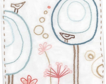 DIY Happy Garden Embroidery Pattern PDF download hand embroidery patterns designs