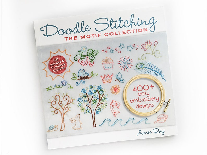 Doodle Stitching The Motif Collection book by Aimee Ray image 0