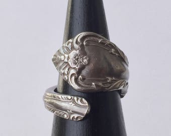 Antique Spoon Ring | Sterling Silver | c. 1952