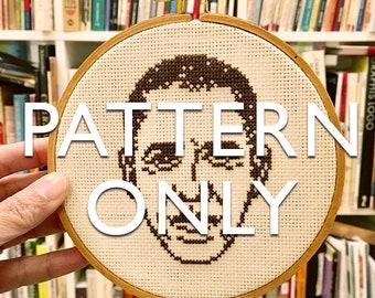 President Barack Obama Cross-Stitch Portrait PATTERN ONLY