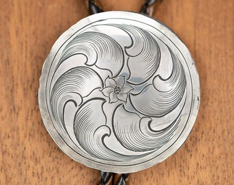 Bolo Tie For Men Sterling, Western Jewelry Men, Stocking Stuffers For Dad, Western Gifts For Men, From Daughter, Birthday Gift For Him