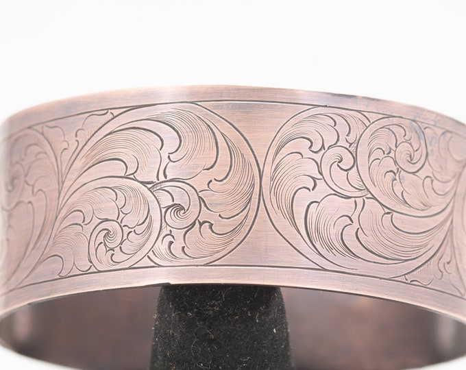 Featured listing image: Copper Cuff Bracelets For Women, Birthday Gifts For Sister, Christmas Gifts For Mom From Daughter, Western Jewelry, Boho Jewelry For Women,