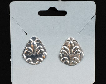 Sterling Silver Post Earrings, Small, Delicate and Elegant,