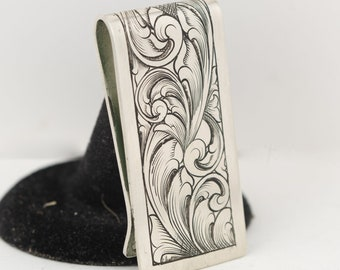 Western Money Clip For Men, Stocking Stuffers For Dad, Western Gifts For Men, Christmas Gifts for Dad from Daughter
