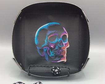 Dark and Eerie Skull Valet Tray