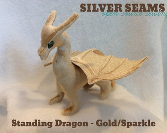 Gold/Sparkle Dragon