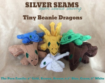 Tiny Beanie Dragons
