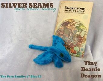 Tiny Blue Dragon – Beanie Style