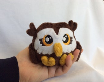 Tiny Plush Owl