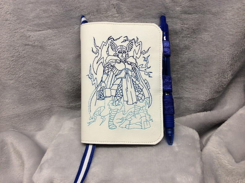 Thor God of Lightning Mini Composition Book Cover  image 0