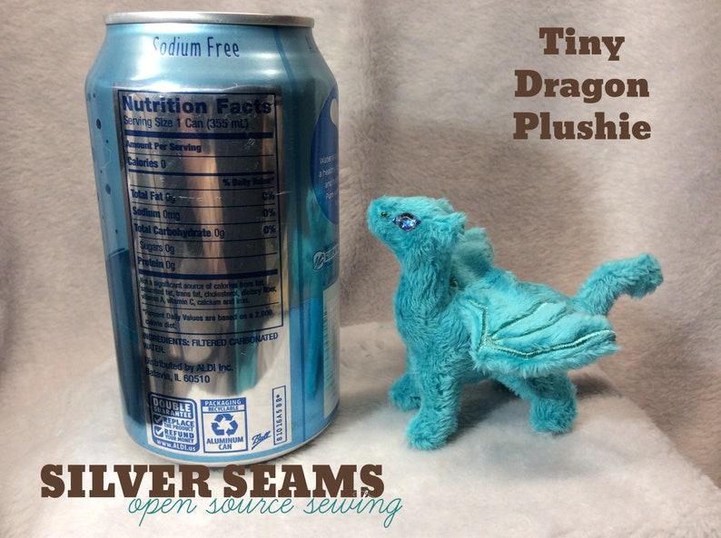 Baby Dragon Plushie  Teal image 0