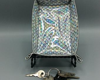 Silver Glitter Mermaid - Valet Tray