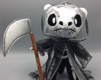 DEATH OF DRAGONBORNS - Plush Dragon Grim Reaper