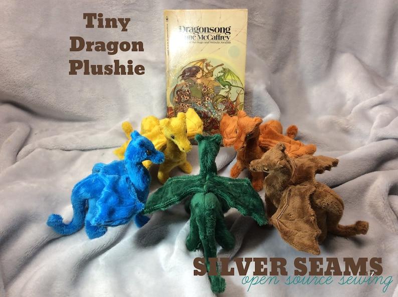 Tiny Dragon Plushie image 0