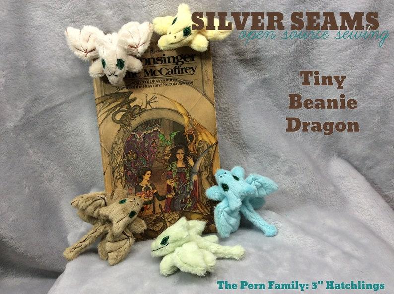 Tiny Dragon Hatchling  Beanie Style image 0