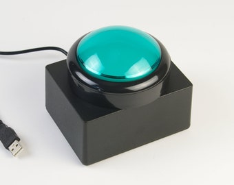 The Big Button - Green