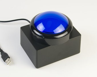 The Big Button - Blue