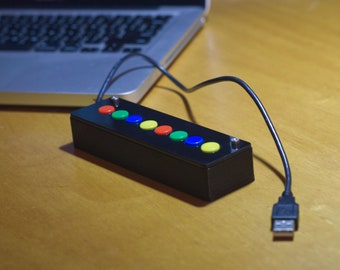 8K Controller (Custom USB & MIDI)