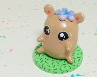 Mini Critter #1 - Hamster Figurine