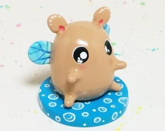 Mini Critter #7 - Hamster Fairy Figurine