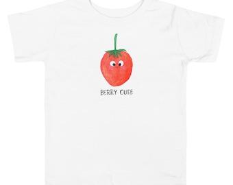 Berry Cute Toddler Tee • Cute Fruit
