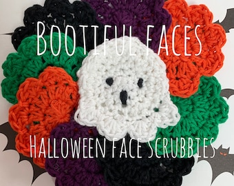 Bootiful Faces Halloween Face Scrubbies