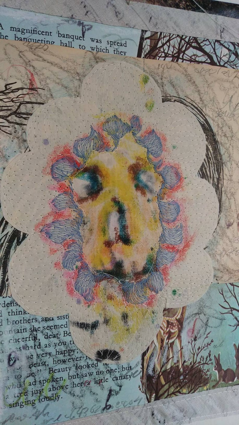 On Sale Sale The face in the flower image 0