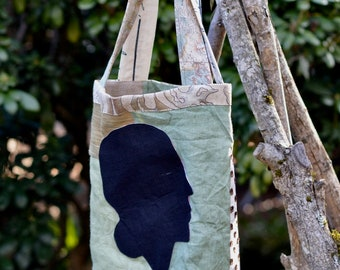 On Sale, she is a dreamer market bag