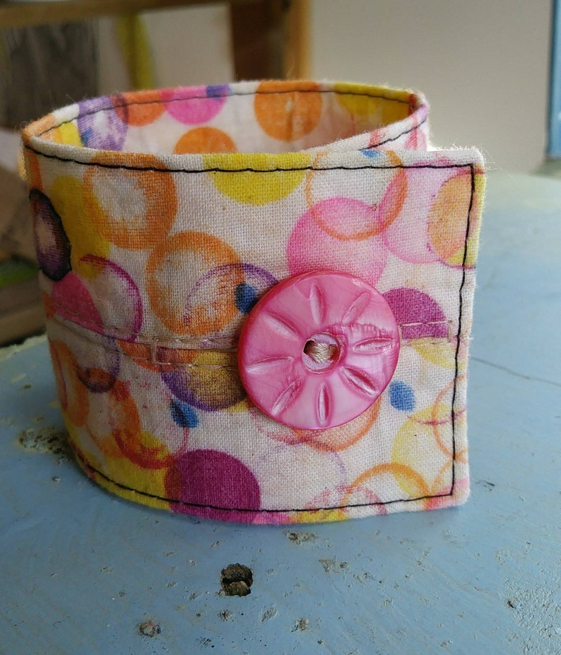 Melted crayon dream cuff image 0