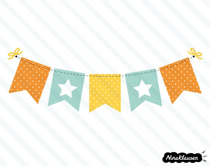 Bunting banner vector illustration - 0011