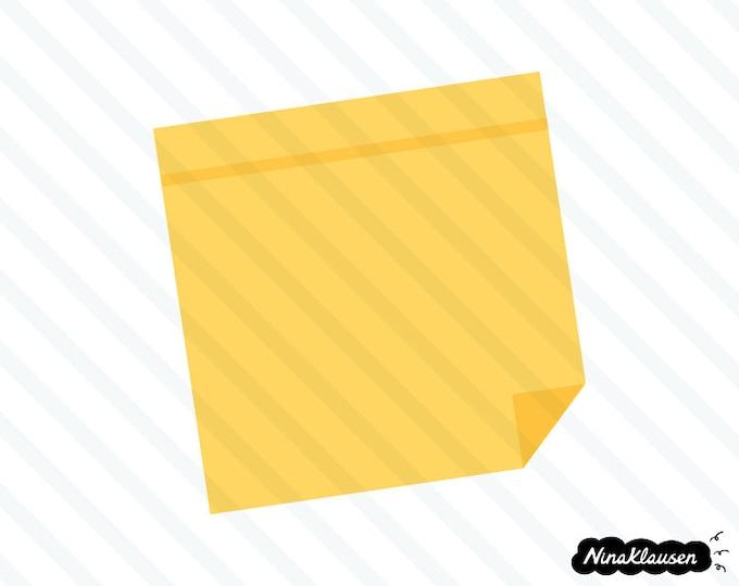 Sticky note vector illustration - 0043