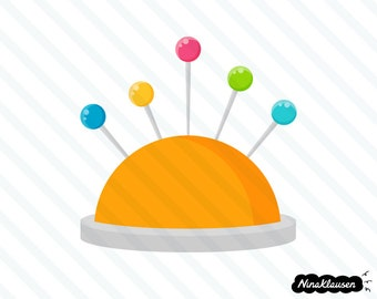 Pincushion vector illustration - 0046