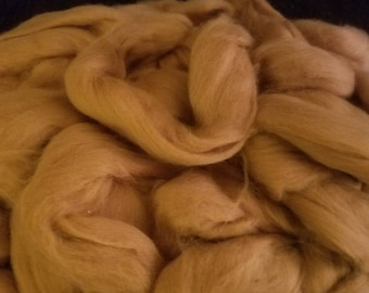 CRAZY Vicuña combed top 100% vicuna spinning fiber 12 micron 28 grams 1 ounce CITES