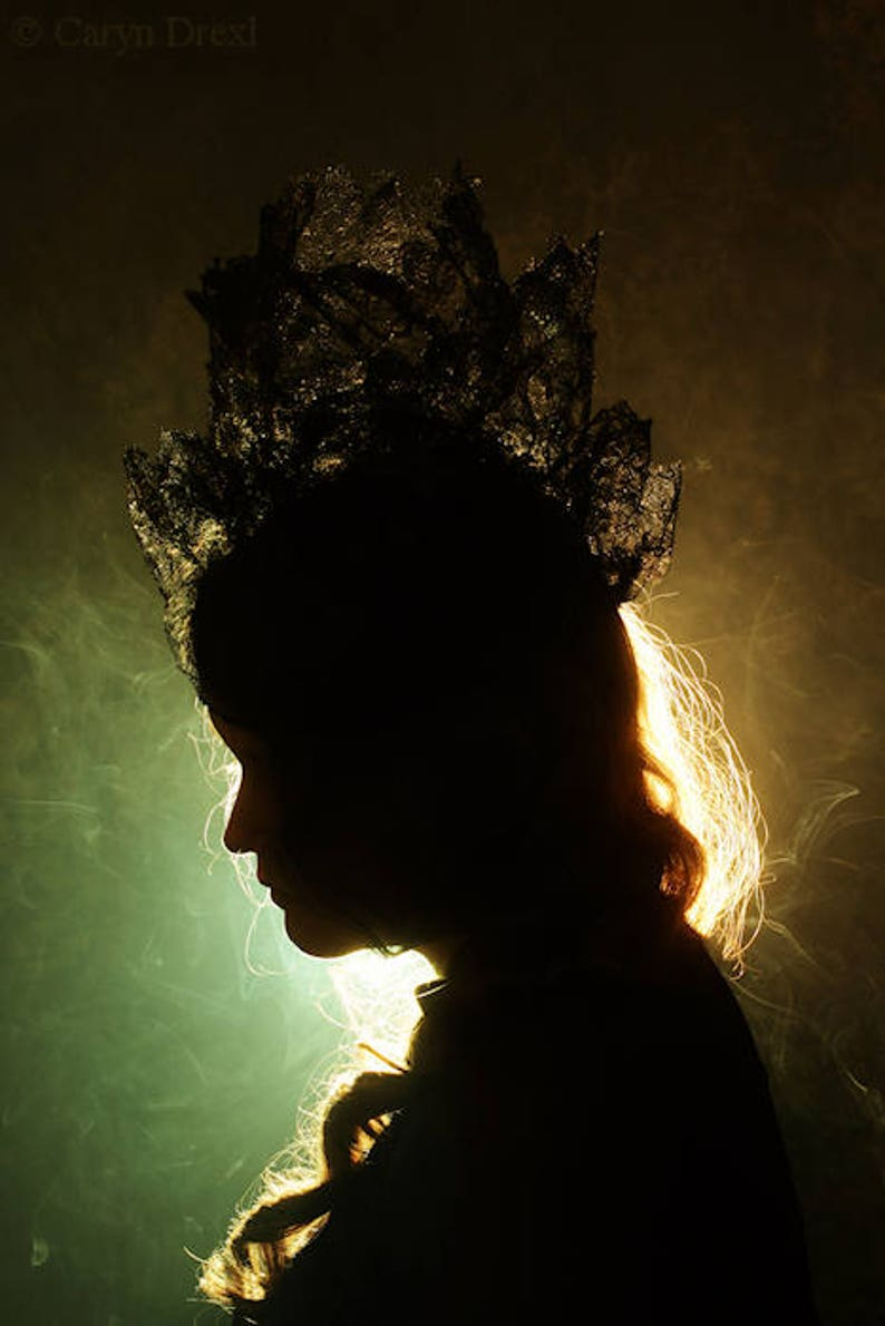 Smoke And Mirrors Free Shipping Surreal Photo Print Silhouette Of A Woman Portrait Profile Smoke Dark Art Photography Green Orange Creepy