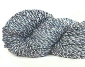 Handspun Yarn Merino wool baby camel silk viscose faux cashmere