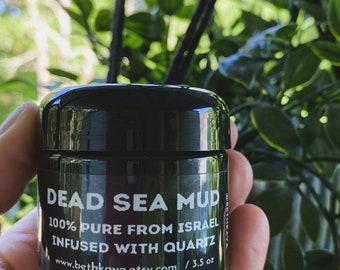 DEAD SEA MUD - Quartz Infused - Ancient Rejuvenation Treatment - From Israel