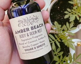AMBER BEACH -  Signature Fragrance Mist By BethKaya