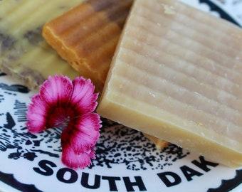 TRIO VEGAN SOAP - Set of 3 - Lavender Patchouli ,Nag Champa, Orange Patchouli - Shampoo Shave and Soap Vegan Bar