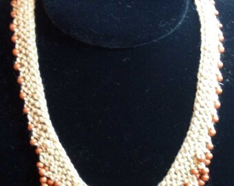 Scallop Edge Beaded Necklace Pattern