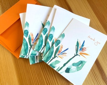 A Hand-Curated set of 8 notecards.