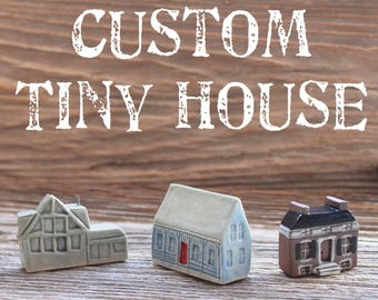 Custom-Made Tiny House - Your House in Miniature - 3-5 Weeks to make