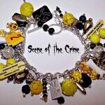 SCENE of the CRIME Mystery Charm Bracelet