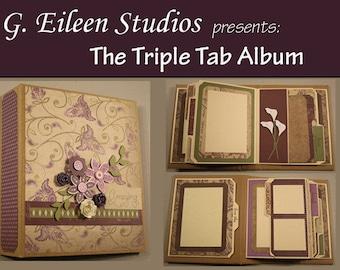 Triple Tab Album Tutorial