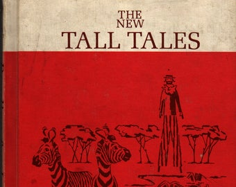 The New Tall Tales Part 1 – Reading For Independence + Connie Moran + 1964 + Vintage Kids Book